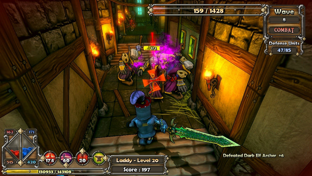 Dungeon Defenders, Dungeon Defenders Review, Xbox, Xbox 360, X360, PC, Tower Defense, RPG, Strategy, Co-op, Action, Game, Review, Reviews,