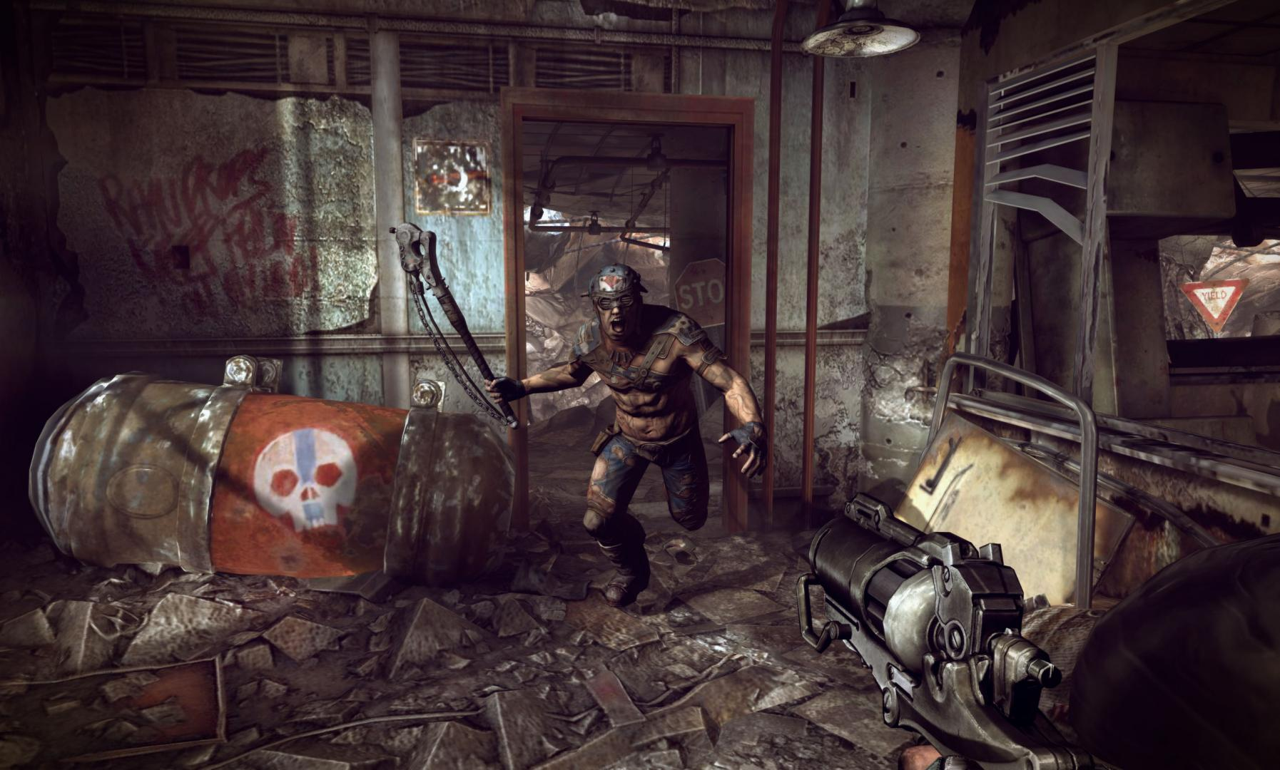 Rage, Rage Review, FPS, Post-apocalyptic, Action, Open World, Bethesda Softworks, id Software, Xbox, Xbox 360, Game, Review,