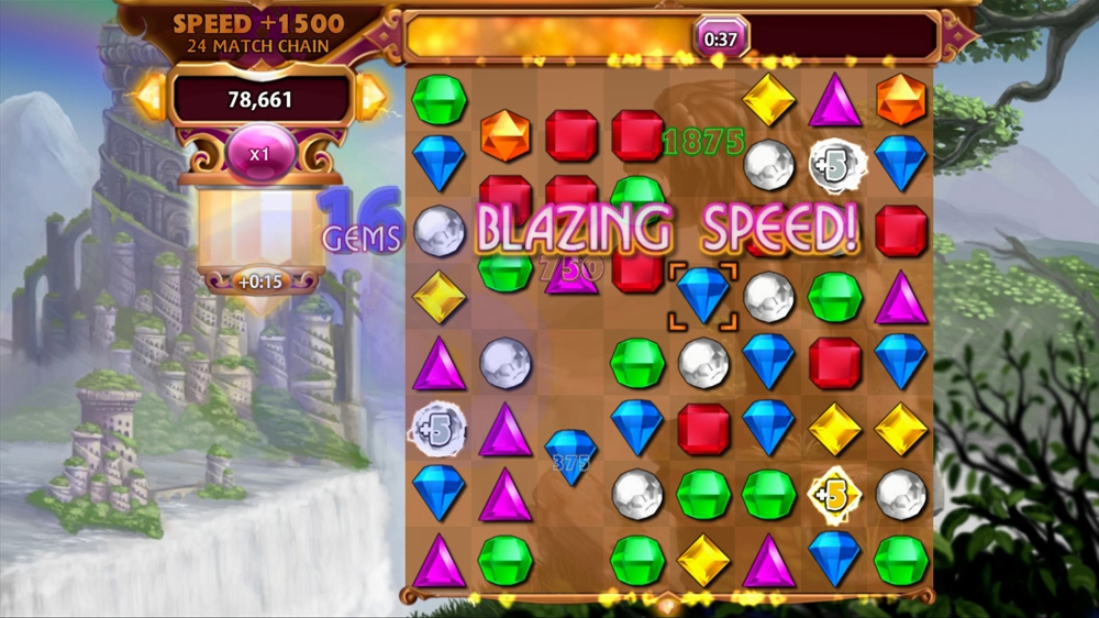 Bejeweled 3, Bejeweled 3 Review, Bejeweled, Xbox 360, X360, Xbox, Xbox Live Arcade, Xbox LIVE, XBLA, PS3, PC, 3DS, DS, Video Game, Game, Review, Reviews,