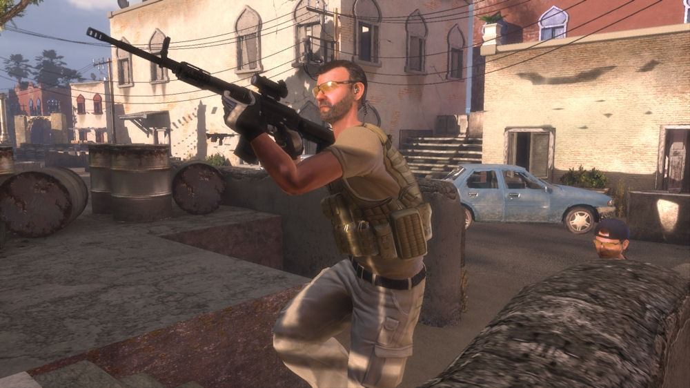 Blackwater, Blackwater Review, Action, First-Person, Shooter, 3D, Zombie Studios, 505 Games, Xbox 360, X360, Xbox, Review, Reviews,