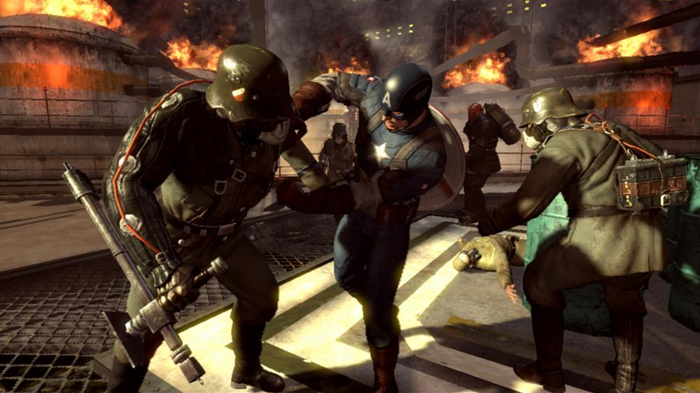Captain America: Super Soldier, Captain America, Super Soldier, Captain America: Super Soldier Review, Nintendo, DS, 3DS, NDS, Video Game, Game, Review, Reviews,