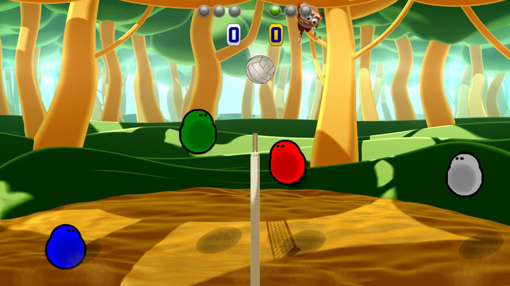 Powa Volley, Powa Volley Review, Xbox 360, X360, Xbox, XBLA, XBLIG, Xbox LIVE, Indie, Game, Video Game, Review, Reviews,