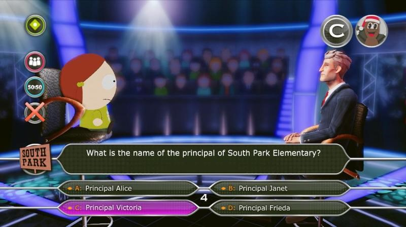 South Park, South Park Millionaire, Special Edition, South Park Millionaire Special Edition Review, Who Wants to be a Millionaire, Xbox 360, X360, Xbox, Trivia, Board Game, Game,Review, Reviews,