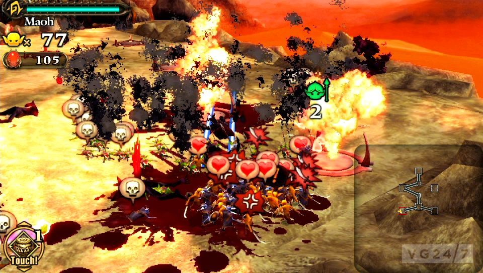 Army Corps of Hell Review Screenshot