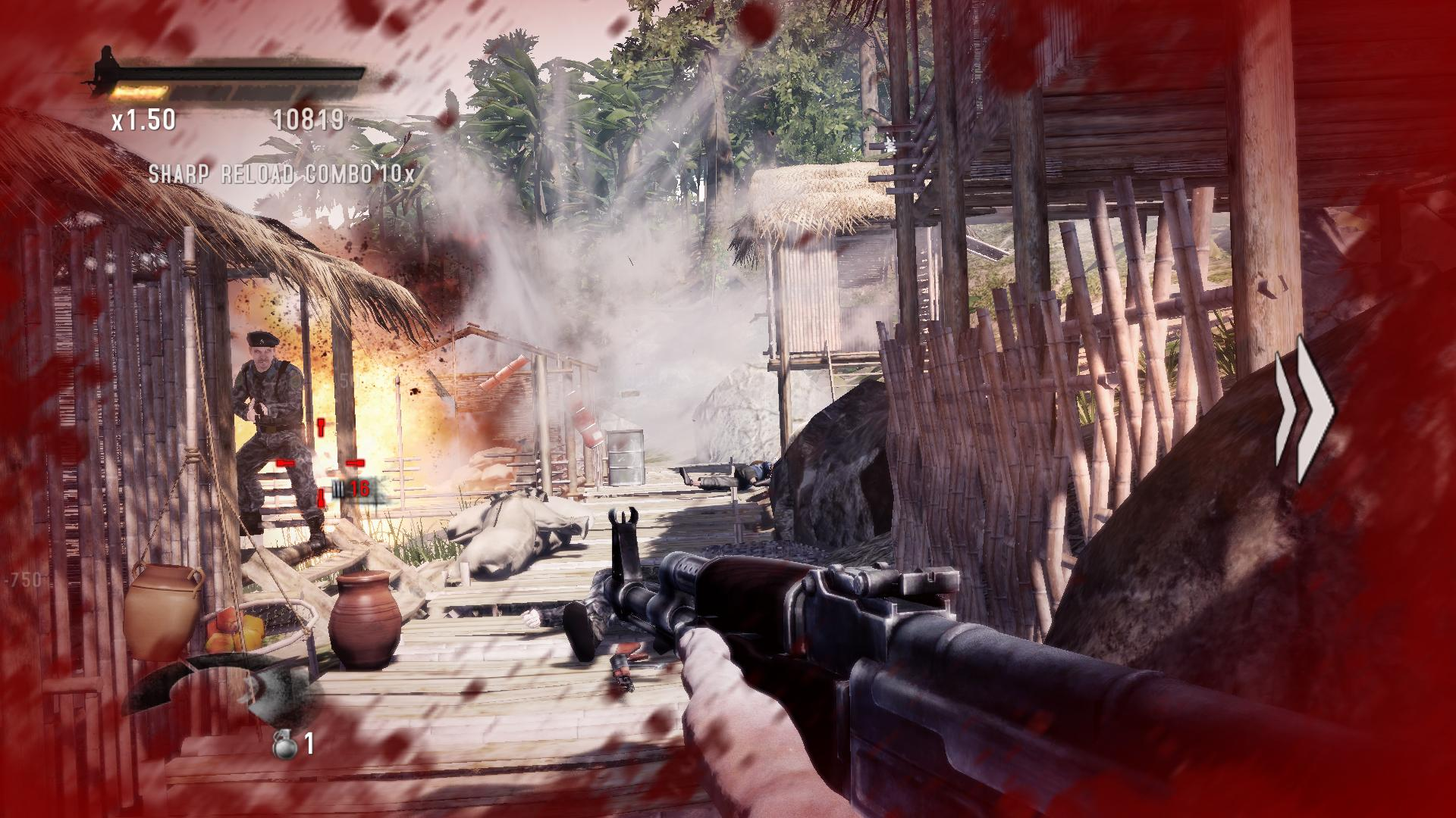 Rambo The Video Game Screenshot 3