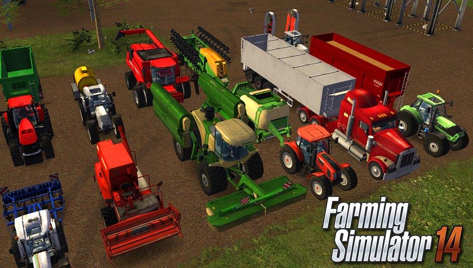 Farming Simulator 14 Screenshot 3