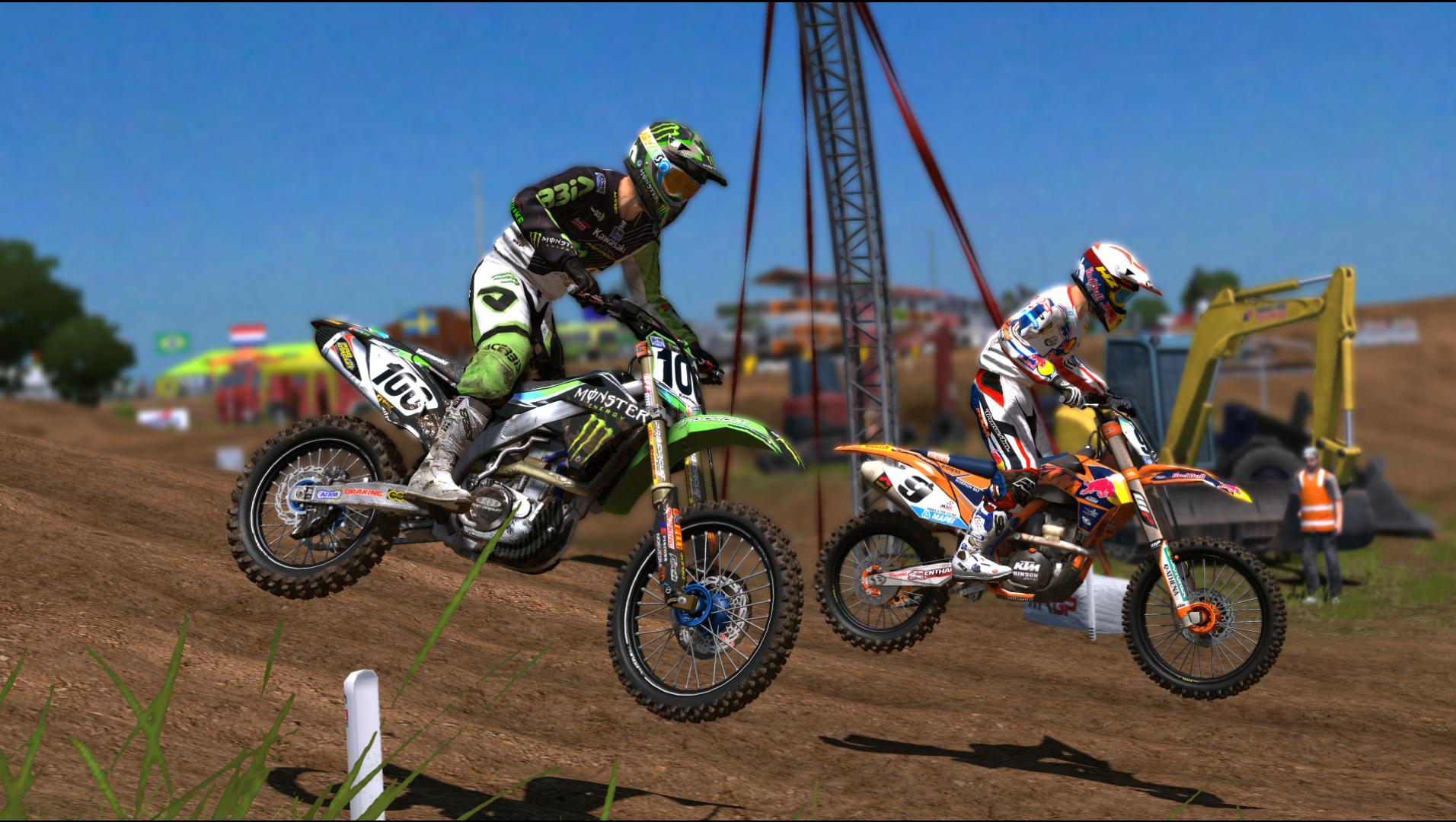 MXGP The Official Motocross Videogame Screen 2
