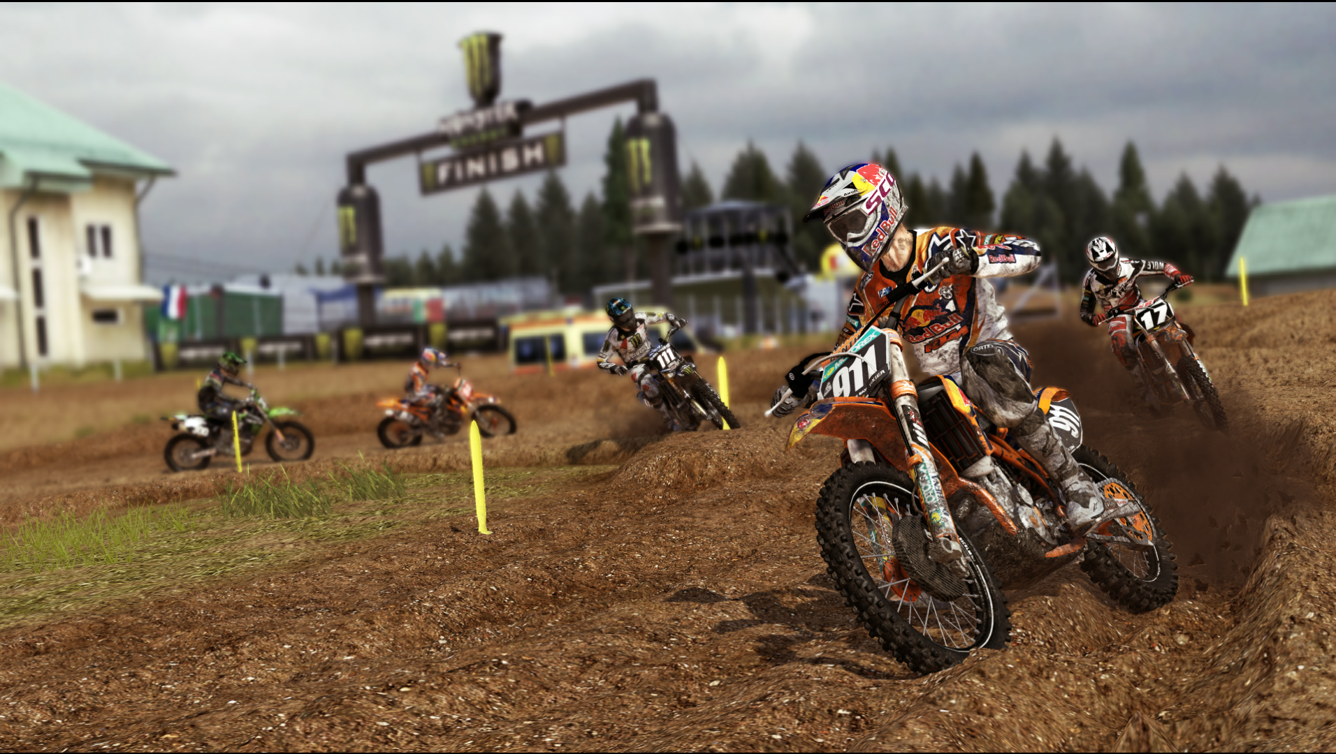 MXGP The Official Motocross Videogame Screen 4
