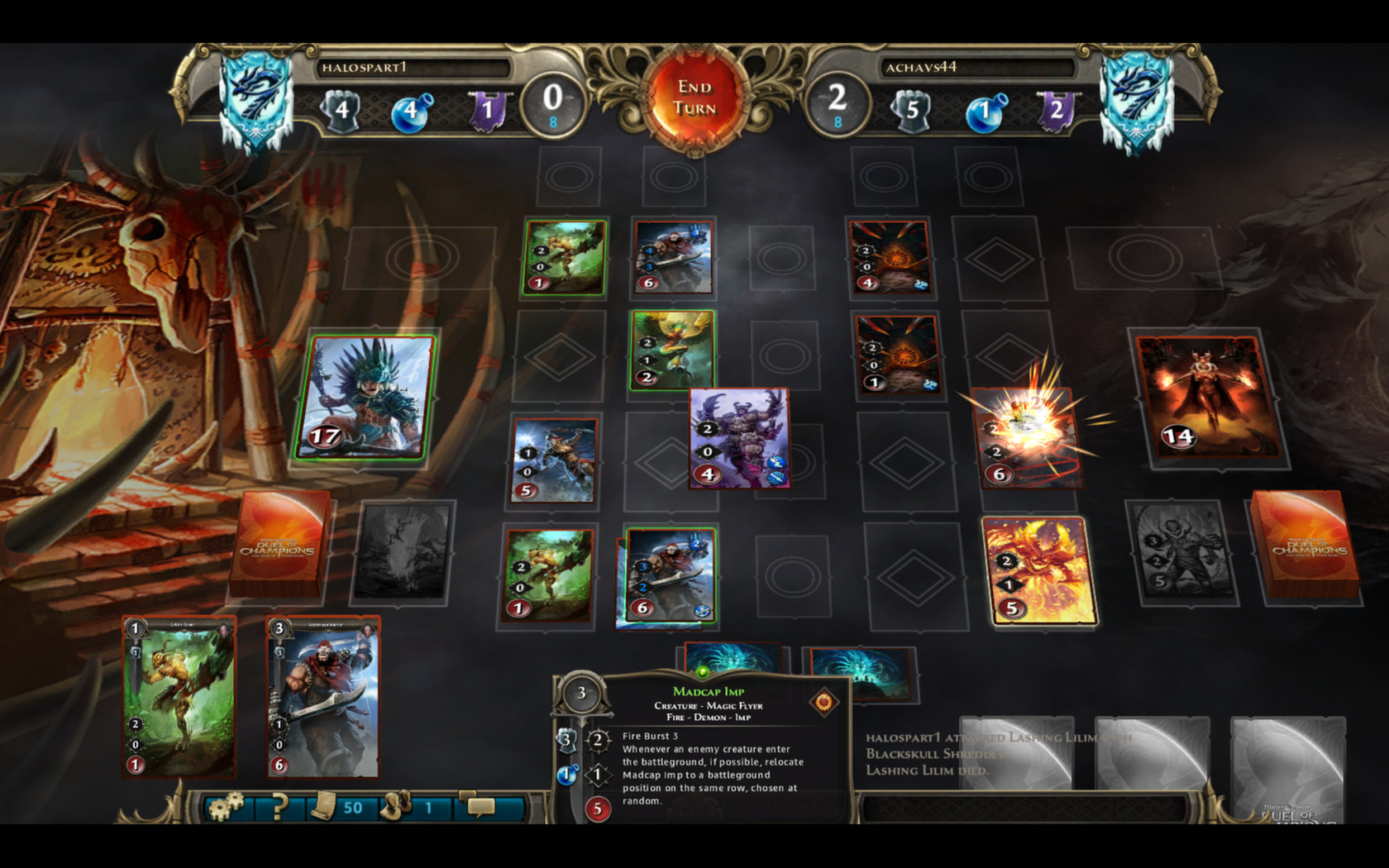 Might & Magic Duel of Champions Forgotten Wars Screenshot 1
