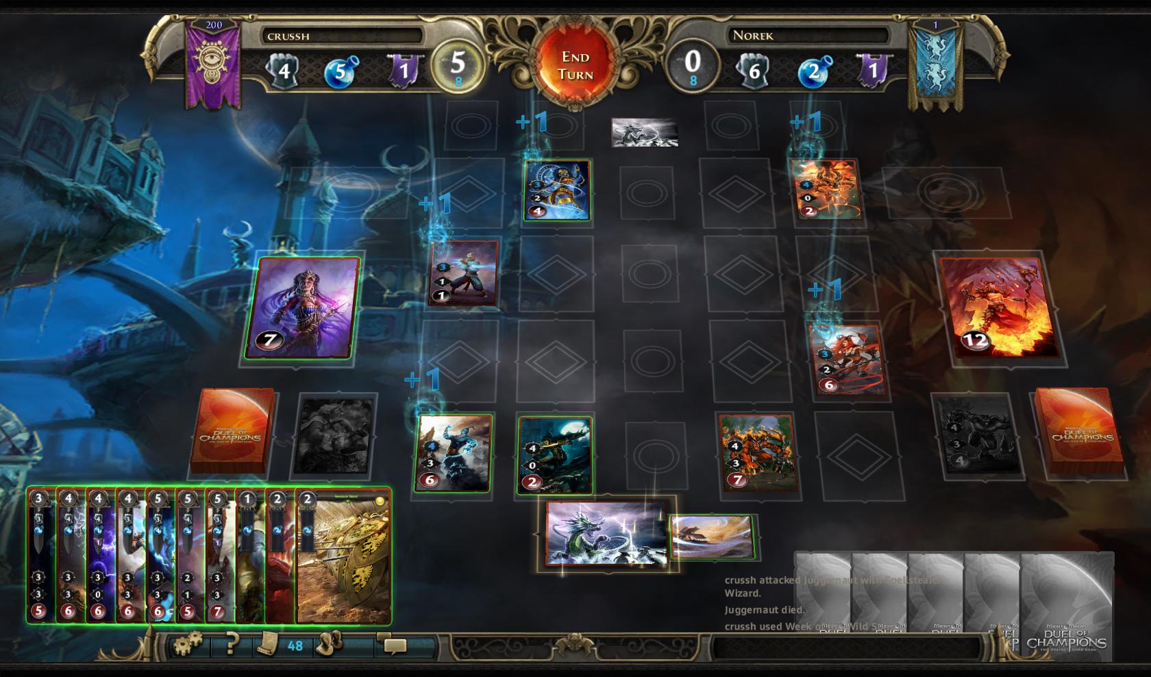 Might & Magic Duel of Champions Forgotten Wars Screenshot 4