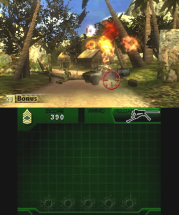 Heavy Fire Black Arms 3D Review Screen 3