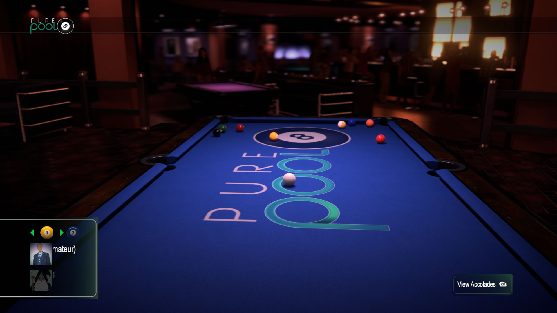 Pure Pool Xbox One Review Screen 1