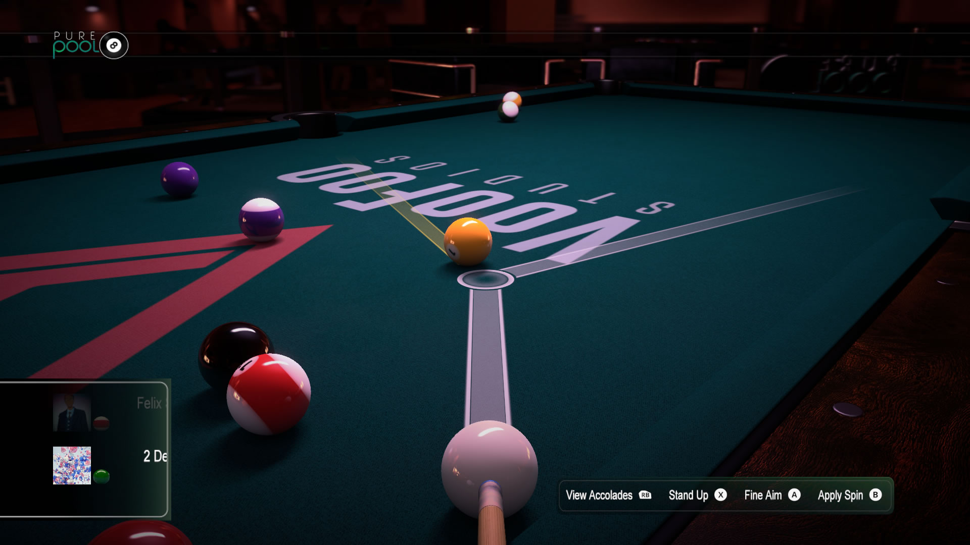 Pure Pool Xbox One Review Screen 2