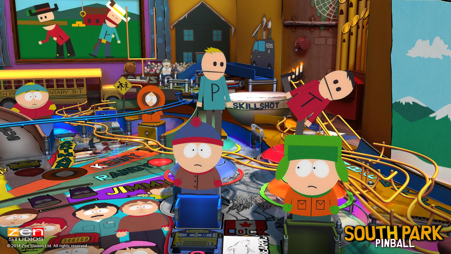 Zen Pinball South Park Super Sweet Pinball Review Screenshot 4