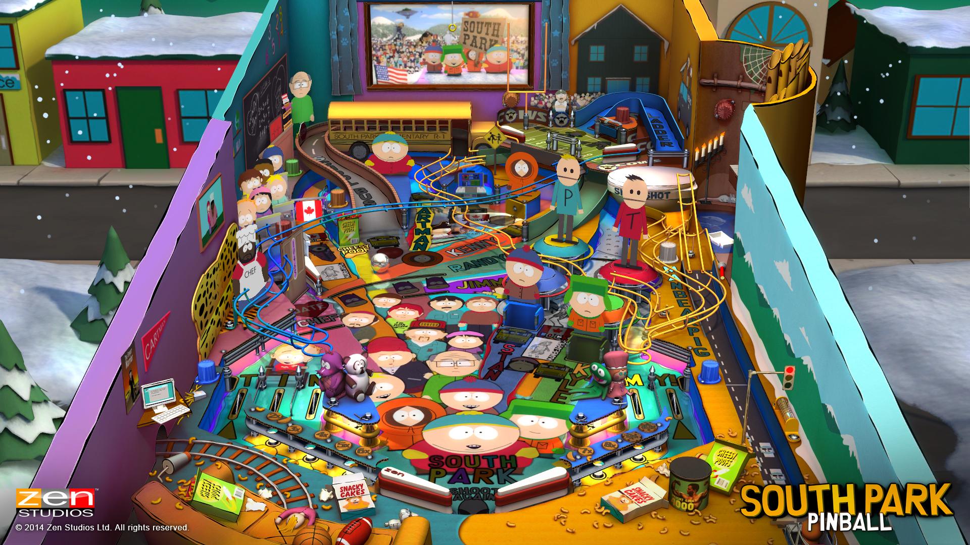 Zen Pinball South Park Super Sweet Pinball Review Screenshot 5