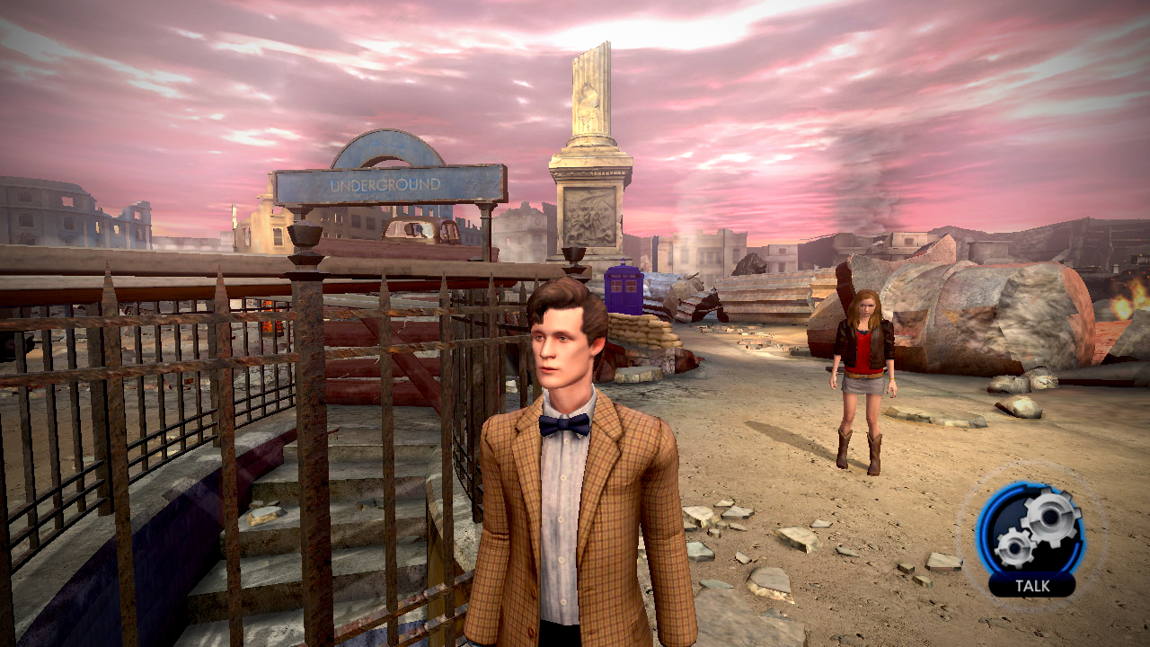 Doctor Who The Adventure Games Review Screen 2