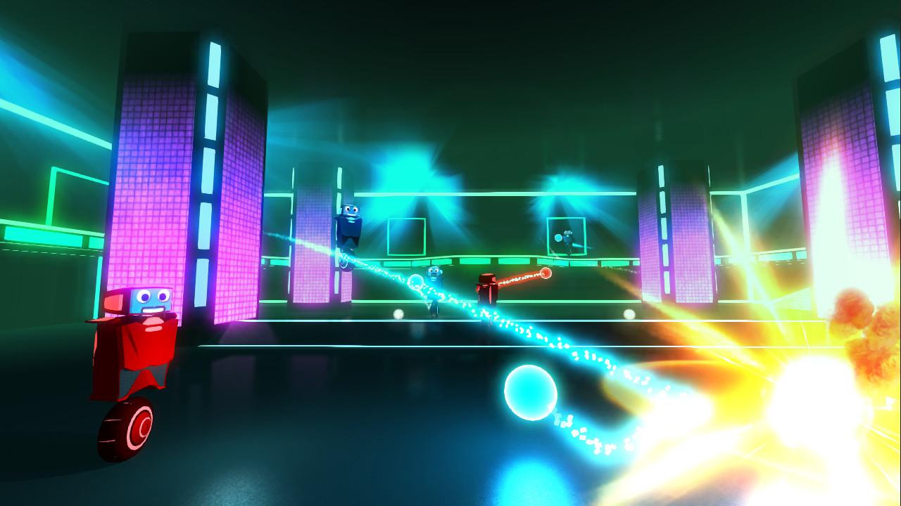 Robot Roller-Derby Disco Dodgeball Screen 3