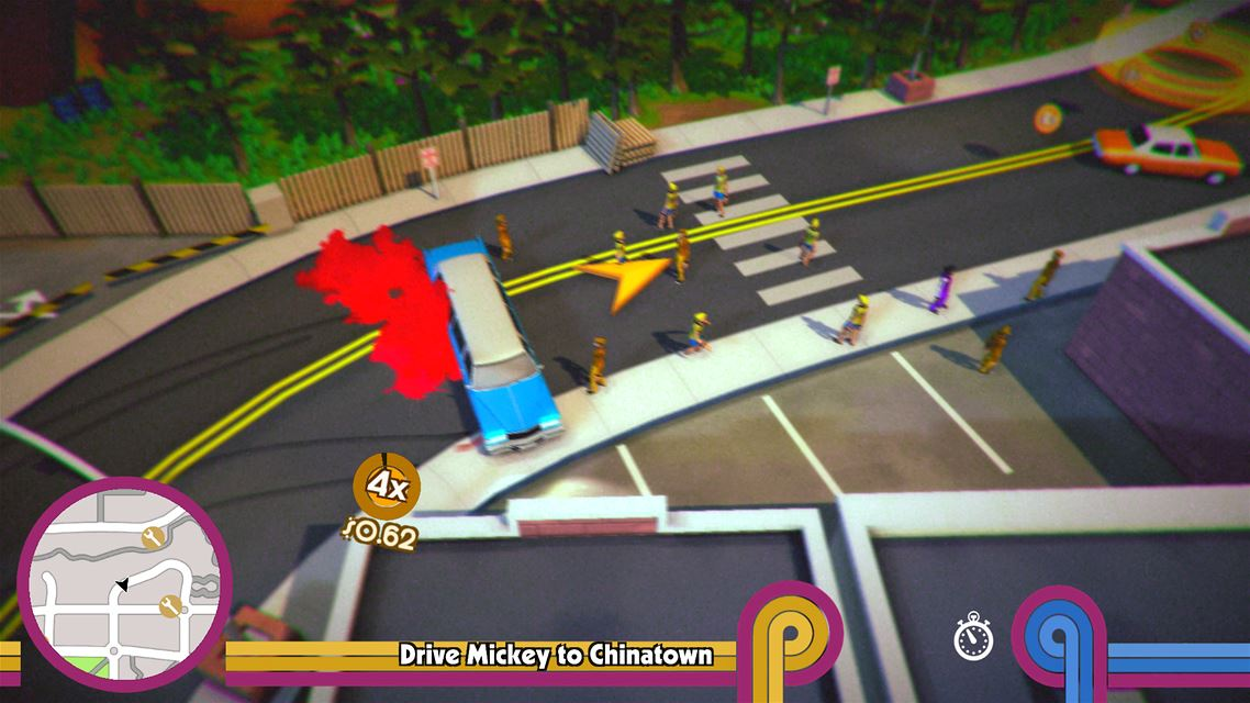 Roundabout Review Screen 1