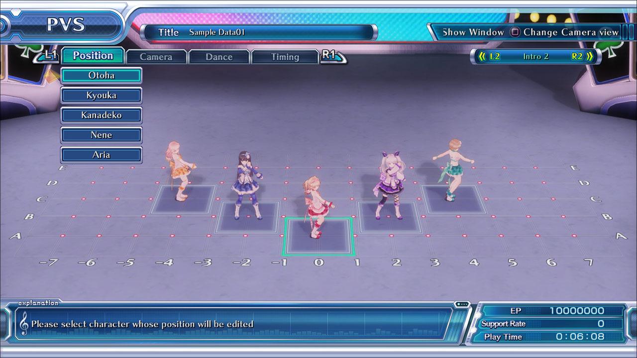 Omega Quintet Review Screen 1