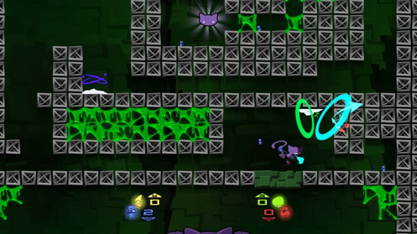 Schrodingers Cat and the Raiders of the Lost Quark Review Screenshot 2