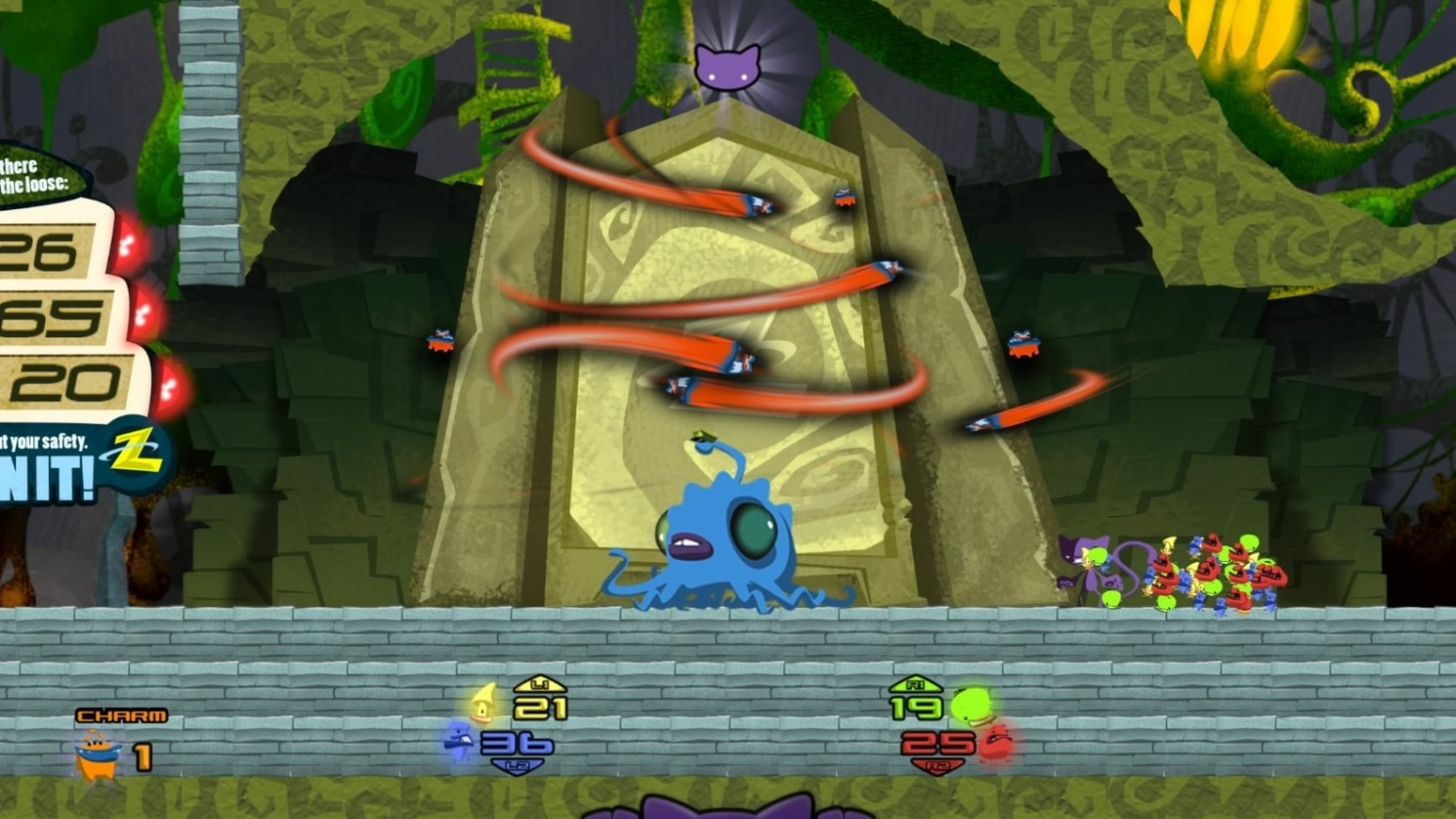 Schrodingers Cat and the Raiders of the Lost Quark Review Screenshot 3