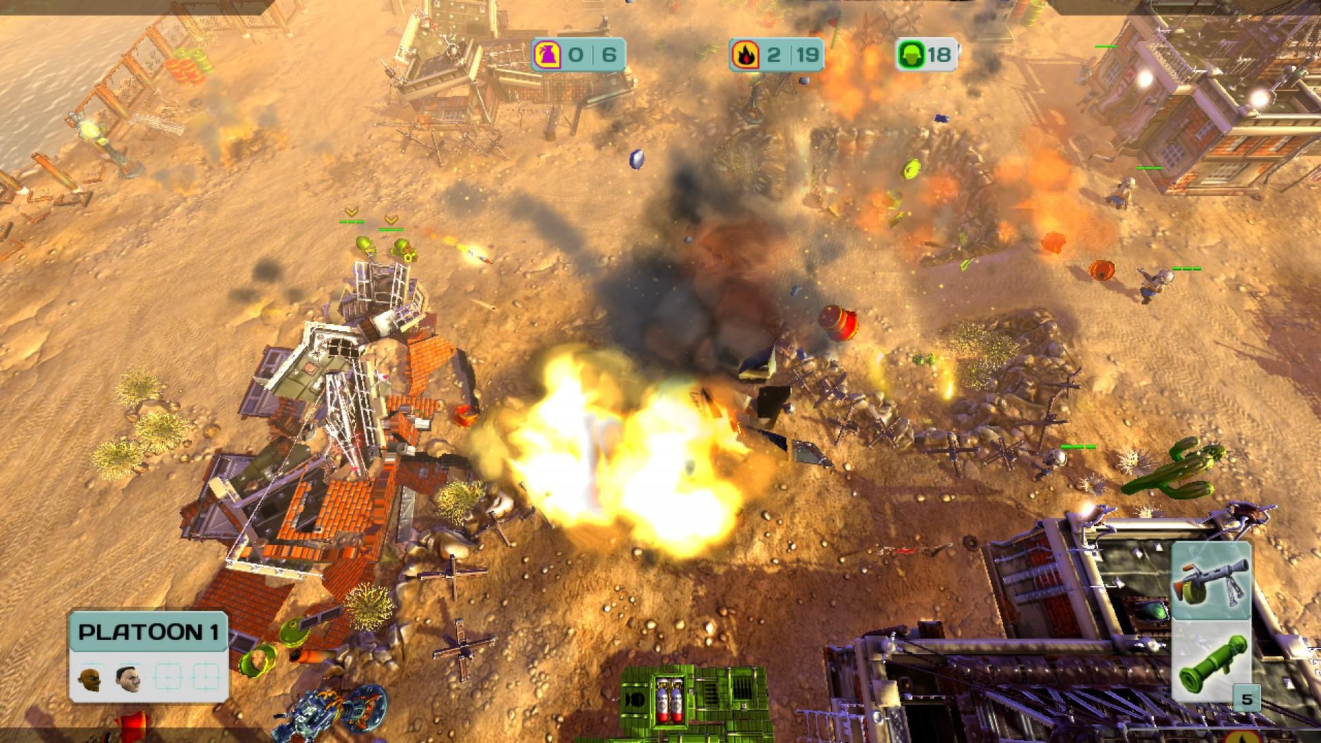 Cannon Fodder 3 Screenshot 1