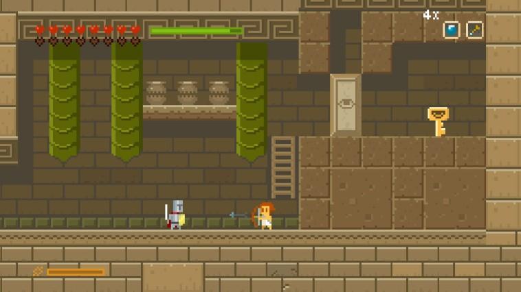 Elliot Quest 3DS Review Screenshot 1