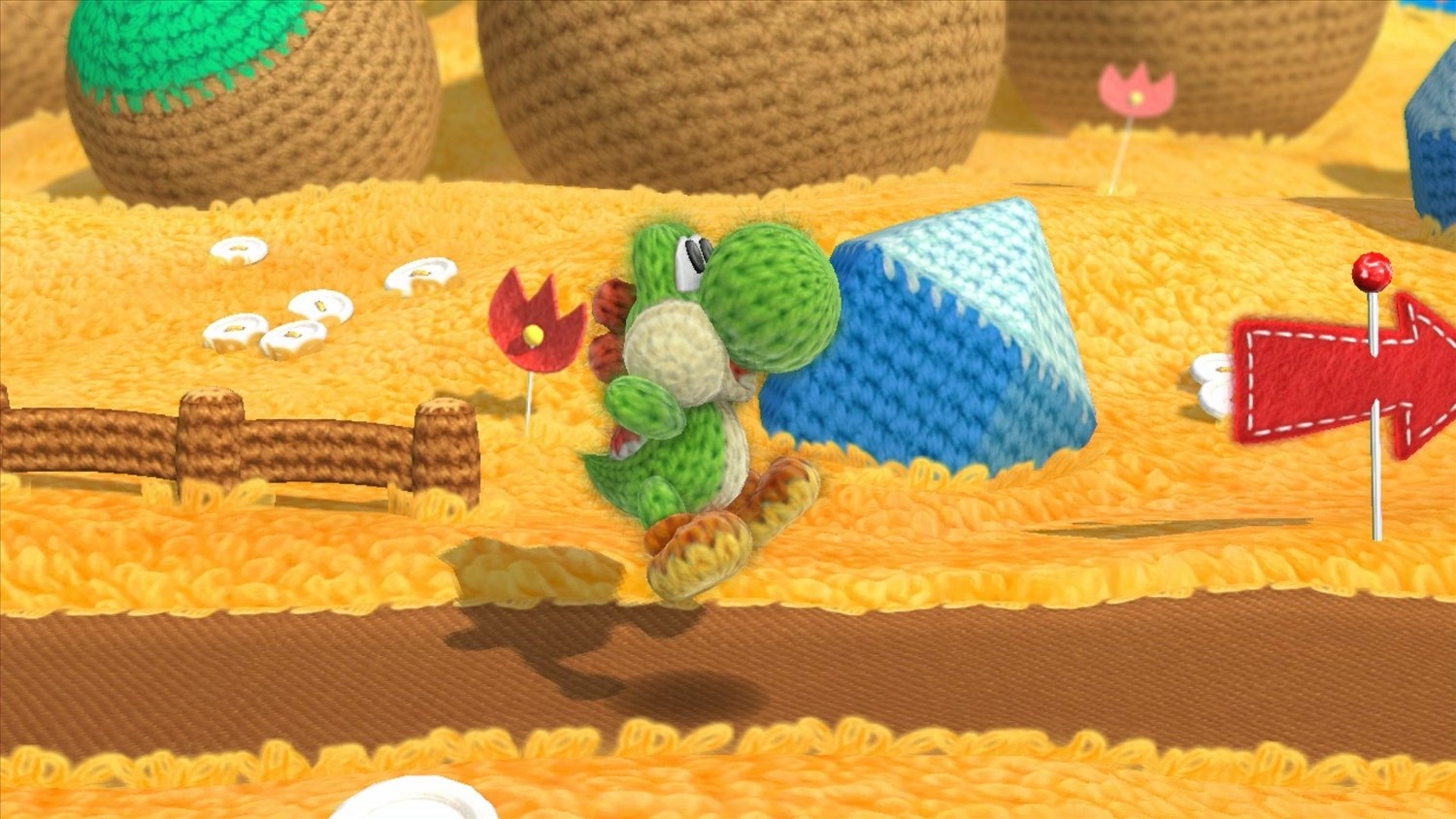 Yoshi's Woolly World Wii U Review Screenshot 1
