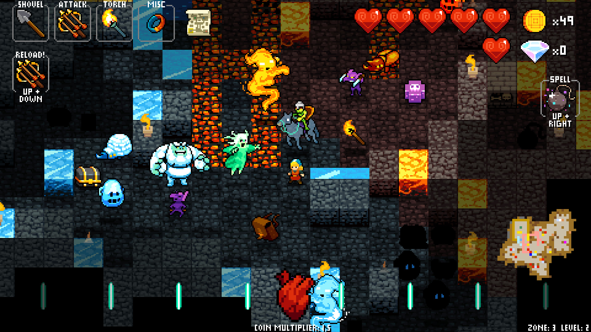Crypt of the Necrodancer Review Screenshot 3
