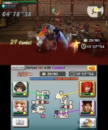Samurai Warriors Chronicles 3 3DS Review Screenshot 1