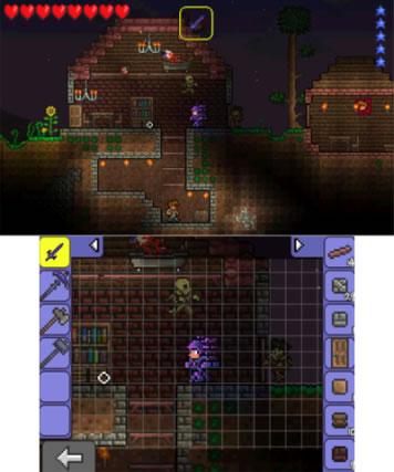Terraria 3DS Review Screenshot 3