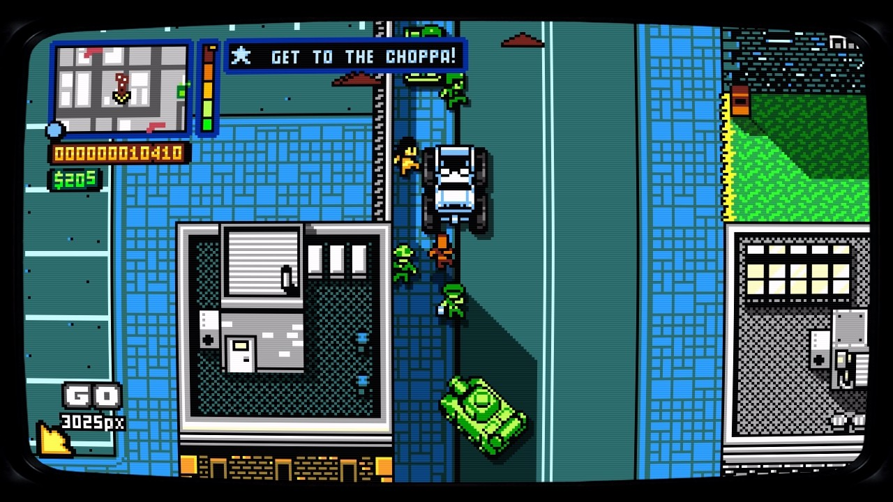 Retro City Rampage DX Nintendo Switch Game Review