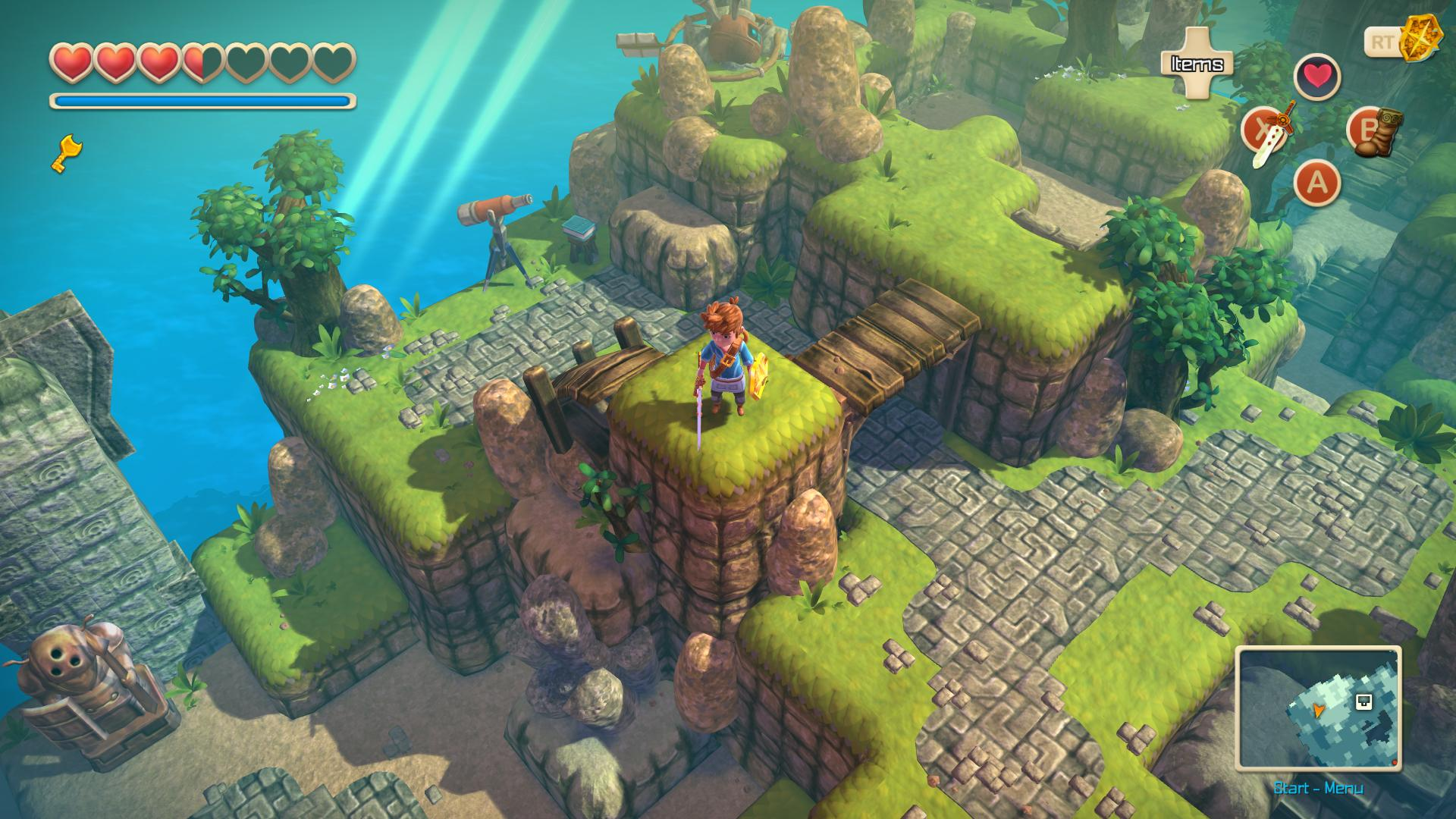 Oceanhorn: Monster of Uncharted Seas Nintendo Switch Review Screenshot