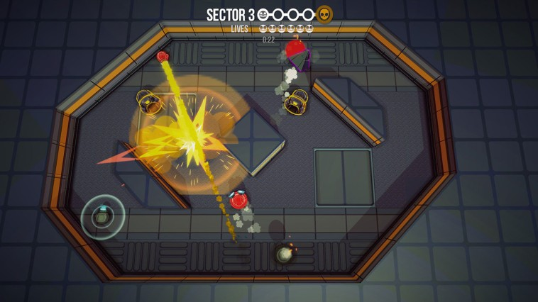 Rocket Fist, Rocket Fist Review, Bitten Toast Games, Nintendo, Switch, MOBA, Strategy, Game, Review, Reviews,