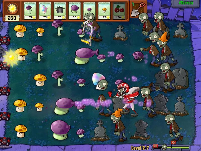 Plants Vs. Zombies Screen 2