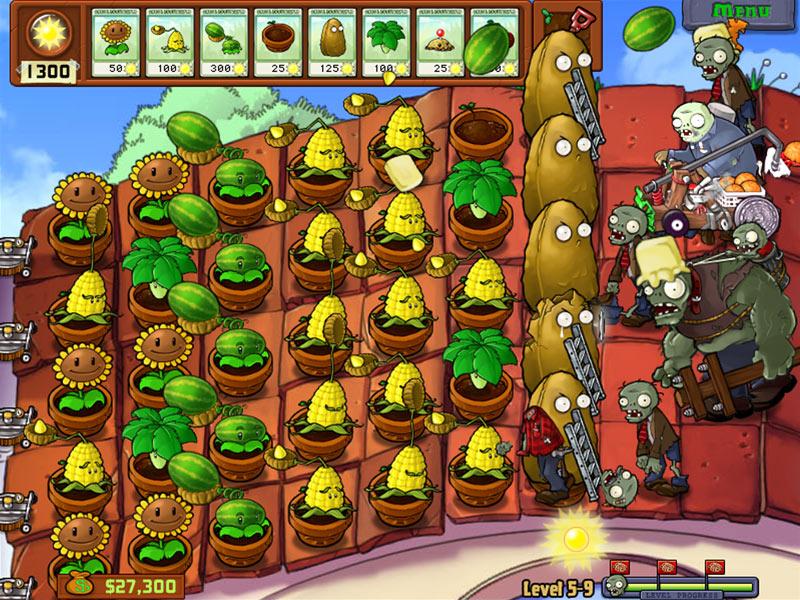 Plants Vs. Zombies Screen 3