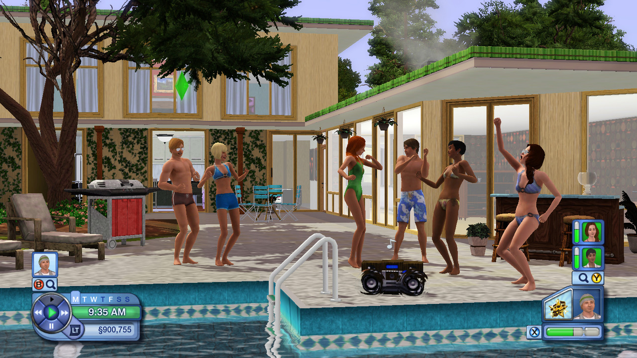 the sims 3 review brash games. Black Bedroom Furniture Sets. Home Design Ideas