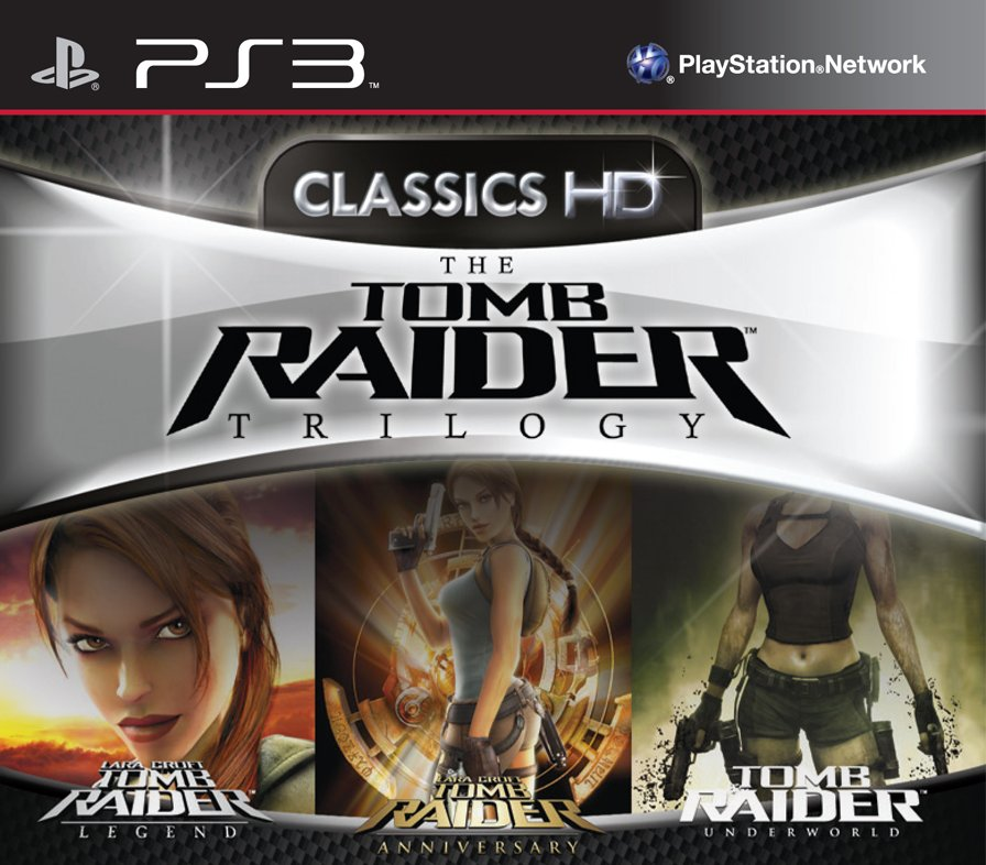 Tomb Raider Trilogy Pack PS3 Pack