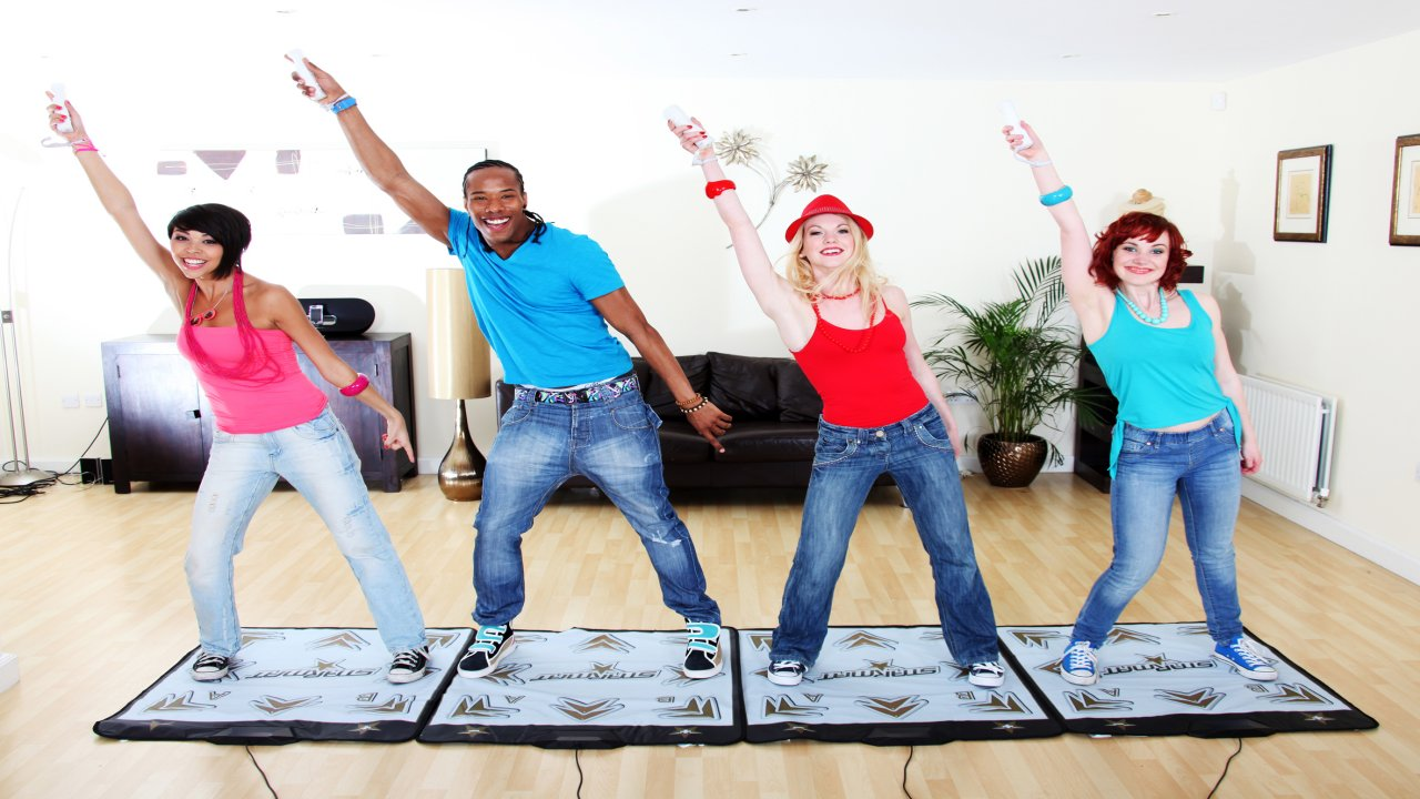 We Dance Wii Homepage Screenshot