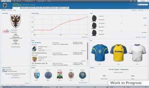 Football Manager 2012 Adaptive Layout Club Screen 300x177 Football Manager 2012   PC Review