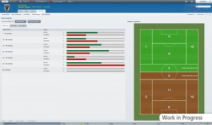 Football Manager 2012 Team Report Goal Analysis 300x177 Football Manager 2012   PC Review