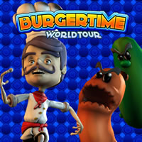 BurgerTime World Tour