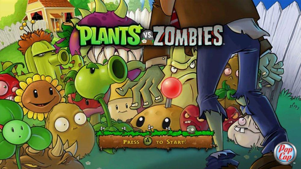 Plants Vs Zombies XBLA Mainpage Image