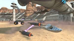 Kinect Star Wars Podracer Screenshot