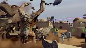 Kinect Star Wars Rancor Rampage Screenshot