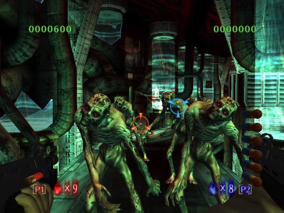 The house of the dead 3 ps3 review brash games for Housse of the dead