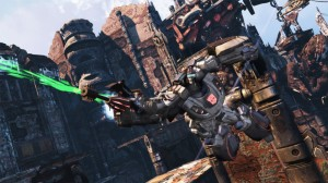 Transformers Fall of Cybertron Screenshot 2 300x168 Transformers: Fall of Cybertron   PS3 Review