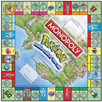Pokemon Monopoly Brash Games