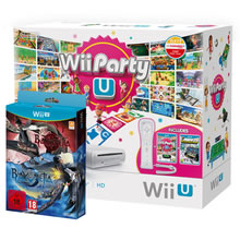 Wii U, Nintendo Land, Wii Party U, Bayonetta 1 & 2, plus Wii Remote £179.86
