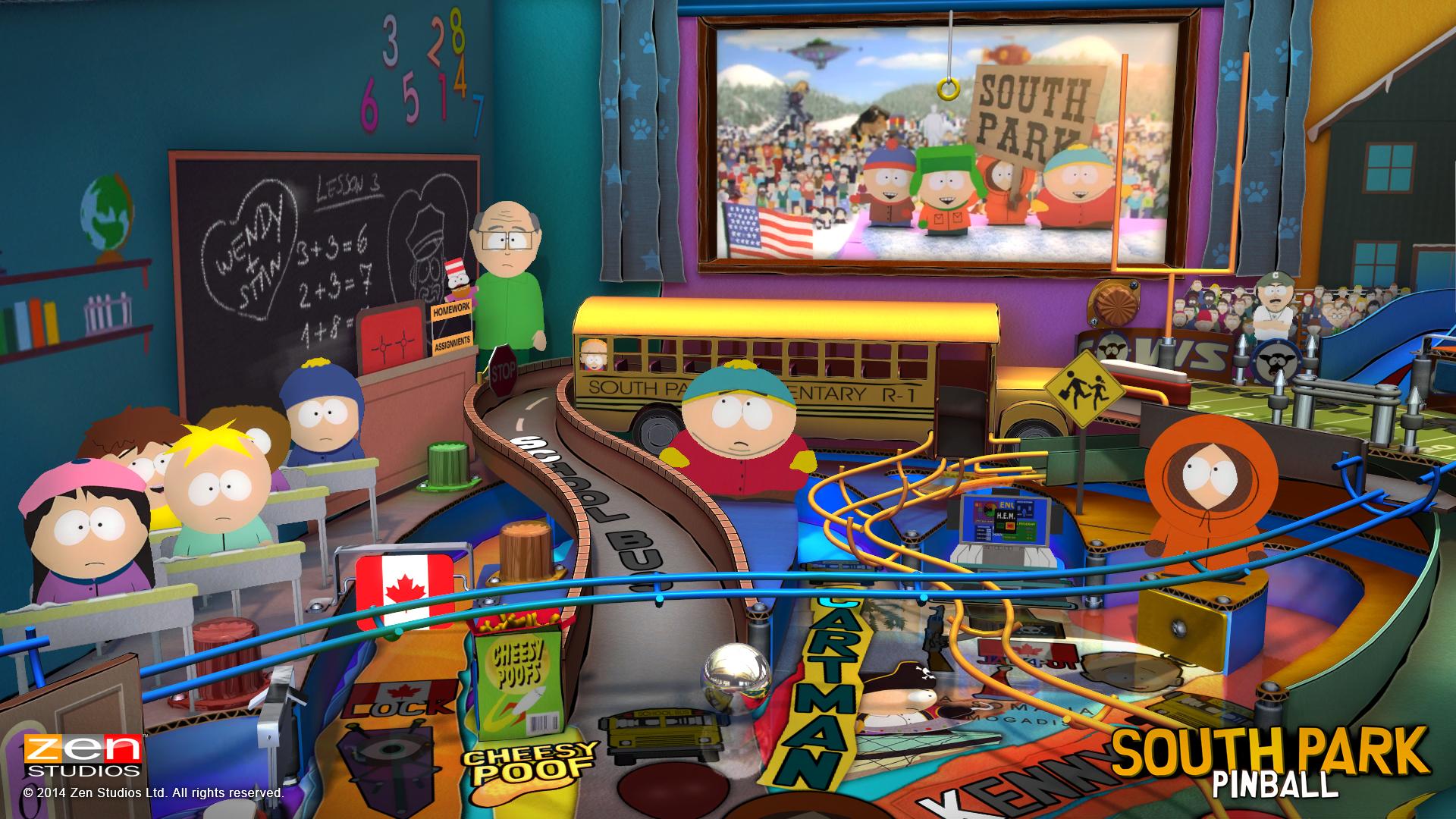 zen pinball south park super sweet pinball review brash games